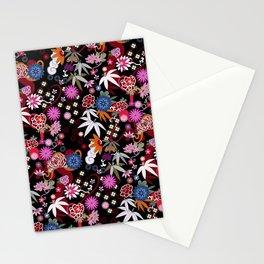 Kimono Black Stationery Cards