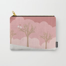 two love birds in february Carry-All Pouch