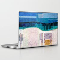 cityscape Laptop & iPad Skins featuring CITYSCAPE by Catspaws