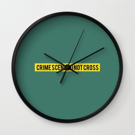 CSI - Minimalist Wall Clock