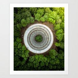 Symmetrical Balance Art Print