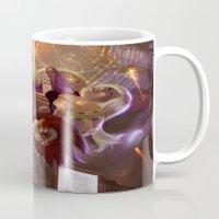 megaman Mugs featuring Megaman X Samus by ImmarArt