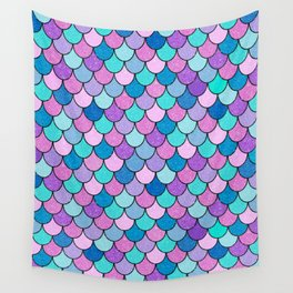 Sparkle Scales Wall Tapestry