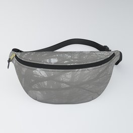Trees in the Mist Fanny Pack