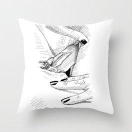 Girls Love Throw Pillow