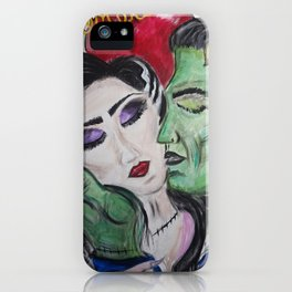 Siempre Monster Love iPhone Case