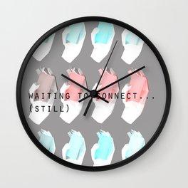 Phone. Wall Clock