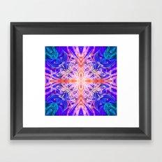 fire spirits Framed Art Print
