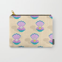 Space Birth of Venus | Astronaut Seashell | Pearl in Seashell | Under the Sea | pulps of wood Carry-All Pouch