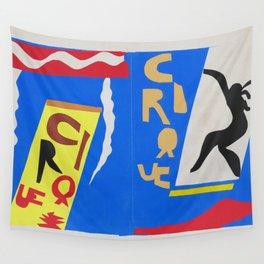 Henri Matisse - The Circus (Jazz) Henri Matisse 1947 - Original Artwork Reproduction Wall Tapestry