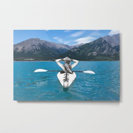 At the end of everything Metal Print