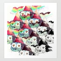 internet Art Prints featuring Internet by iJustlikeMilk