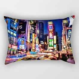 Times scuare Rectangular Pillow