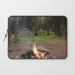 Backpacking Camp Fire Laptop Sleeve