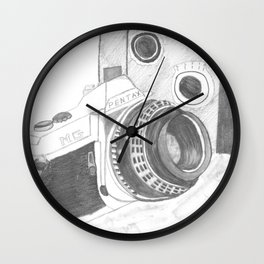 Pentax Illustrated Wall Clock