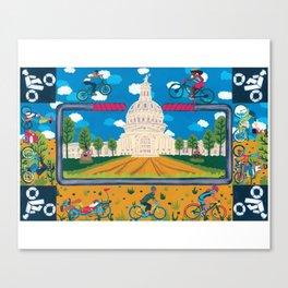 Bike ATX Canvas Print