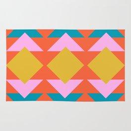 Colorful and Bold Geometric Design Rug