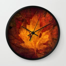 Cycle Modern Seasonal Art Design Photograph Wall Clock