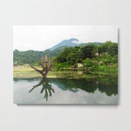 Lake Atitlan, San Jose, Guatemala  Metal Print