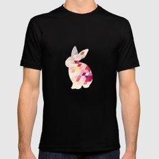 Bunny Mens Fitted Tee Black MEDIUM