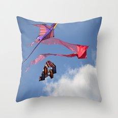 Kites Throw Pillow