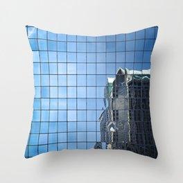 the matrix (color) Throw Pillow