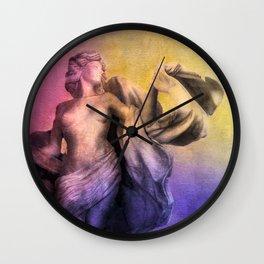 LA DEA Wall Clock