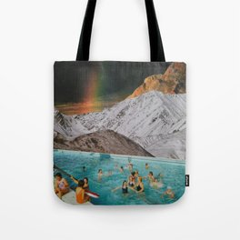 High Up Above All Tote Bag