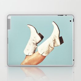 These Boots - Blue Laptop & iPad Skin
