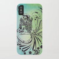 pisces iPhone & iPod Cases featuring Pisces by Heaven7