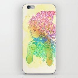 Doodle shot iPhone Skin