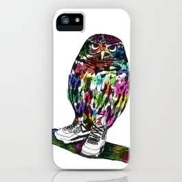 Owl in Air Jordans! iPhone Case
