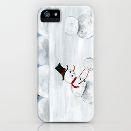 Hilly Heart iPhone Case