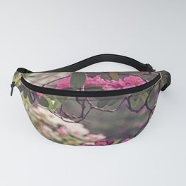 Pink and Green Rhododendrons Fanny Pack