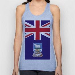 Falkland Islands flag emblem Unisex Tank Top