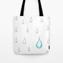 Emphasis by Contrast Tote Bag