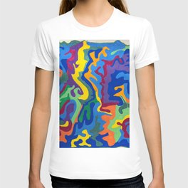 Shapes and Swirlls of Brilliant Color T-shirt