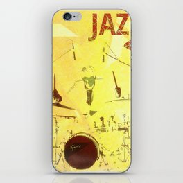 Jazz Poster iPhone Skin