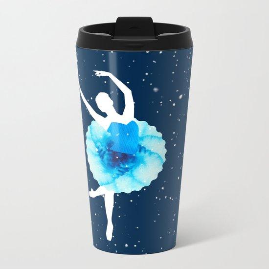 Ballerina Metal Travel Mug