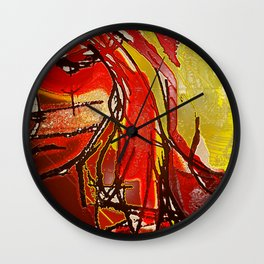 Trippin Billie Wall Clock