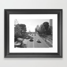 KNOXVILLE STRIP Framed Art Print