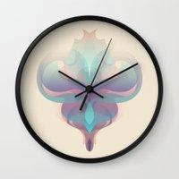 voyage Wall Clocks featuring voyage by La Señora