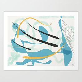 Xanthe Art Print