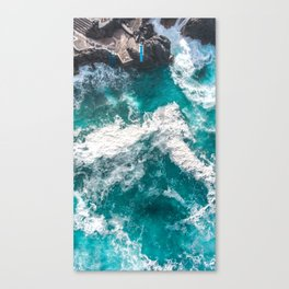Diving into the Deep Canvas Print
