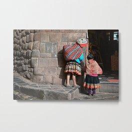 Peruvians - Cusco Metal Print