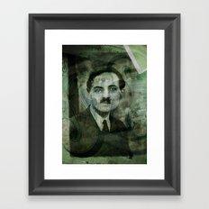 L'ancêtre Vert . . . Framed Art Print