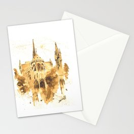 Gothic Notre Dame Stationery Cards