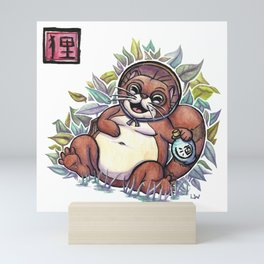 Legends - Tanuki Mini Art Print