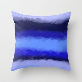 Abstract cozy winter 1 Throw Pillow