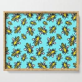 Honey Bee Swarm Serving Tray